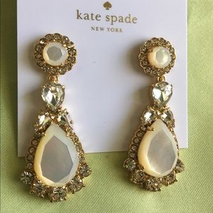 Kate Spade Statement Mother of Pearl Earrings